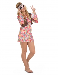 Déguisement hippie fleurie femme
