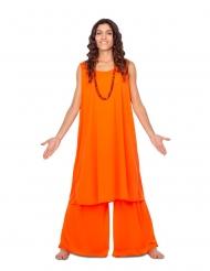 Déguisement disciple orange femme