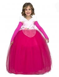 Déguisement princesse de bal rose fille