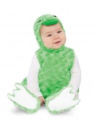 Déguisement petit canard peluche vert