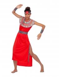 Déguisement Massaï rouge femme