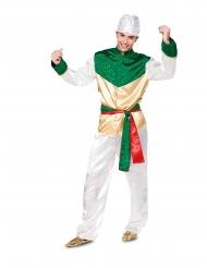 Déguisement Bollywood blanc homme