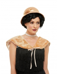Kit années 20 beige femme