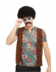 Kit accessoires hippie multicolore homme
