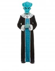 Déguisement alien bleu garçon
