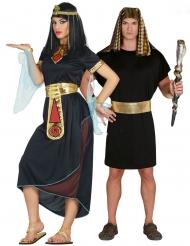 Déguisement de couple Cléopatre et Pharaon adulte