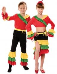 Déguisement de couple danseur rumba enfant