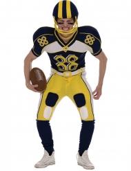 Déguisement joueur football américain jaune homme