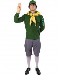 Déguisement scout vert homme