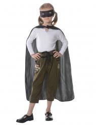 Kit super héro noir enfant