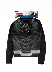 Top avec masque Black Panther™ garçon