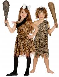 Déguisement de couple préhistorique enfants
