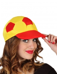 Casquette football supporter Espagne adulte