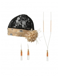Kit accessoires charleston femme