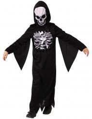 Déguisement squelette mystérieux enfant