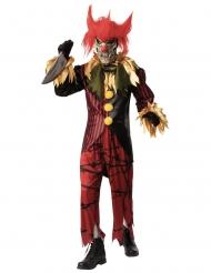 Déguisement luxe clown fou avec masque homme