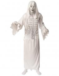 Déguisement spectre blanc avec masque homme