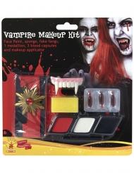 Kit maquillage et accessoires vampire
