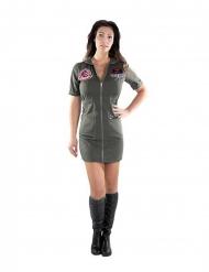 Déguisement robe Top Gun™ femme