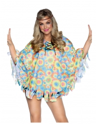 Tunique avec headband hippie femme
