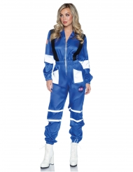 Déguisement luxe combinaison astronaute femme