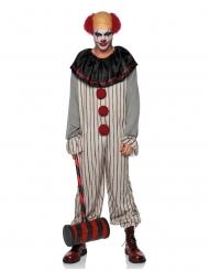 Déguisement clown effrayant homme