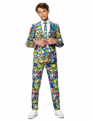 Costume Mr. Super Mario™ adolescent Opposuits™