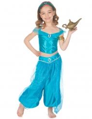 Déguisement princesse orientale bleue fille