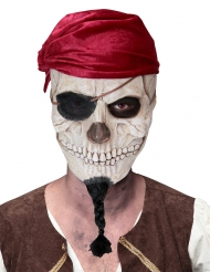 Masque crâne de pirate adulte