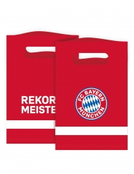 8 Sachets cadeaux FC Bayern Munich™ 15 x 23 cm