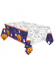 Nappe en papier Halloween Friends 1,2 x 1,8 m
