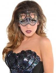 Demi masque luxe sirène sexy femme