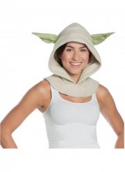 Capuche avec oreilles Yoda™ adulte