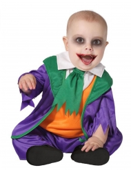 Déguisement petit clown fou bébé