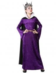 Déguisement méchante reine violette fille