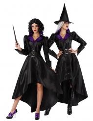 Déguisement avec chapeau sorcière années 20 femme