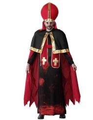 Déguisement pape ensanglanté adulte