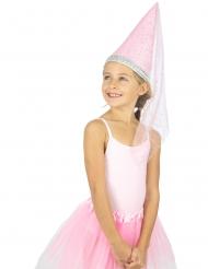 Chapeau princesse luxe fille