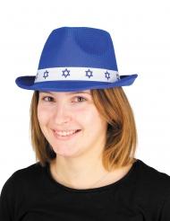 Chapeau Bar Mitzvah bleu adulte
