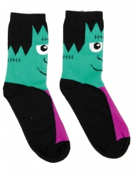 Chaussettes monstre effrayant
