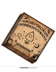 20 Serviettes en papier Ouija 33 x 33 cm