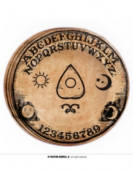 8 Assiettes en carton Ouija 23 cm