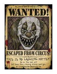 Décoration affiche Wanted 30 x 40 cm
