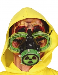 Masque à gaz radioactif adulte