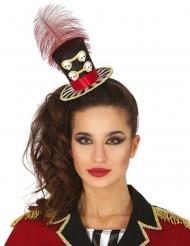Mini chapeau dame calaveras femme