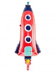 Ballon en aluminium fusée 44 x 115 cm