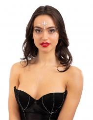 Tatouages adhésifs crystal phosphorescent femme