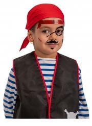 Tatouages adhésifs pirate enfant