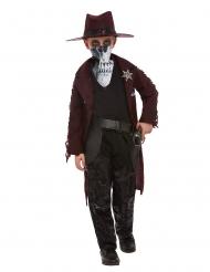 Déguisement cowboy mystérieux enfant