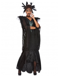 Déguisement reine des corbeaux femme